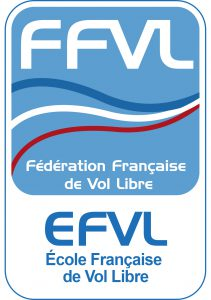 le logo de la fédération nationale de vol libre