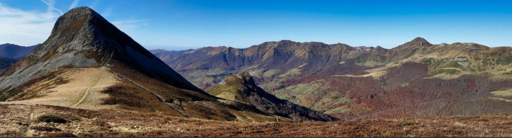 panorama au Puy Griou