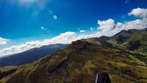 Transition en stage cross parapente dans le Cantal en Auvergne