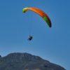 atterrissage autonome en stage de perfectionnement parapente en Niviuk koyot 3 L orange et jaune