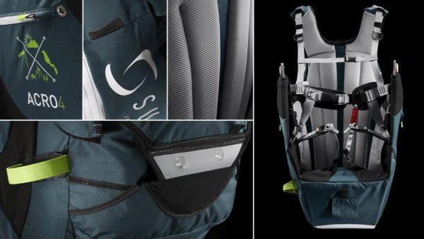 L'assise et quelques détails de la Sup'Air Acro 4