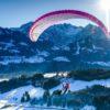 La versioin superlight de L' eazy 2 de chez Air Design en vol hivernal