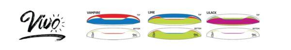 Couleurs disponibles pour la AirDesign Vivo