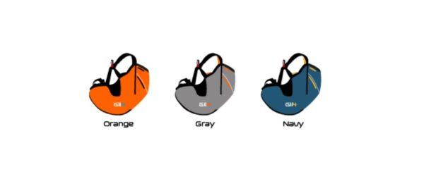 Les couleurs disponibles pour la Gii 4
