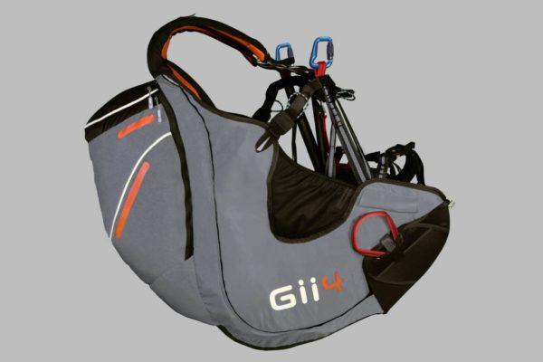 La sellette de parapente Sky Paragliders Gii 4 de couleur grise