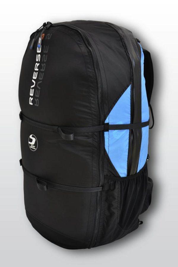 La Reverse 5 de Sky Paragliders en mode sac de portage