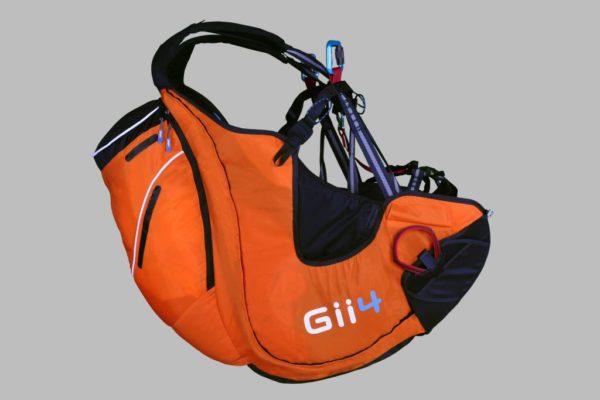 La Sky paragliders Gii 4 en couleur orange