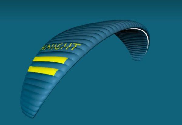 La Knight-Evo Bleue